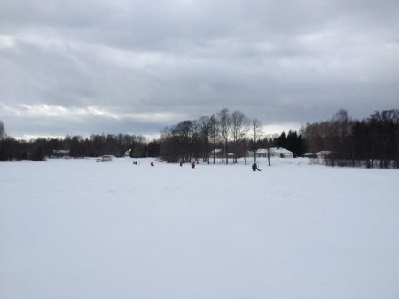 pimplare på isen