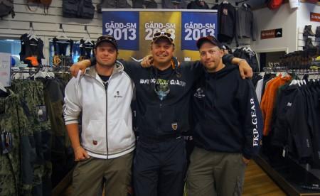 Kvaltävlings vinnarna i sportfishmaster