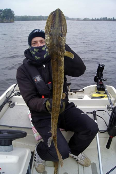 Gäddfiske i Marma