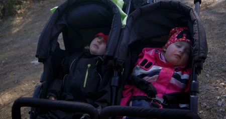 Barnen sover..