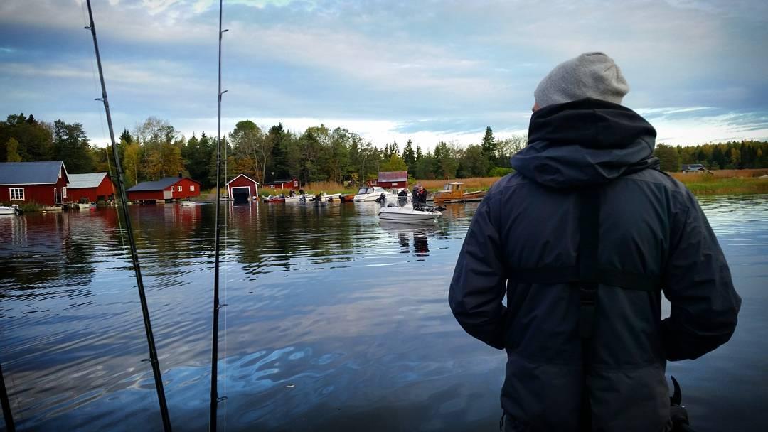 Vi vnder ryggen till efter dagens fisketvling Katastrofalt dligt resultathellip
